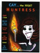 Cay… The Night Huntress #4 by Brian Cattapan