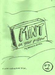 Mint On Your Pillow #1 by Rebecca Strom