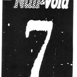 Null and Void #7 by Donovan Cater