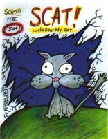 Scat&#8230; the Scaredy Cat #4 by Brian Cattapan