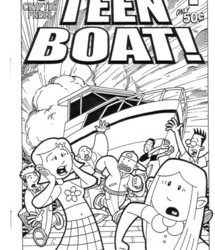 Teen Boat #1 by John Green & Dave Roman