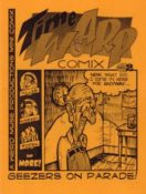 Time Warp Comix #2 edited by Dan Taylor