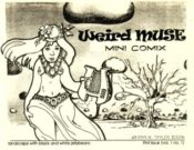 Weird Muse #1 by Dan Taylor