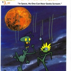 Zeek the Martian Geek #8 by Brian Cattapan